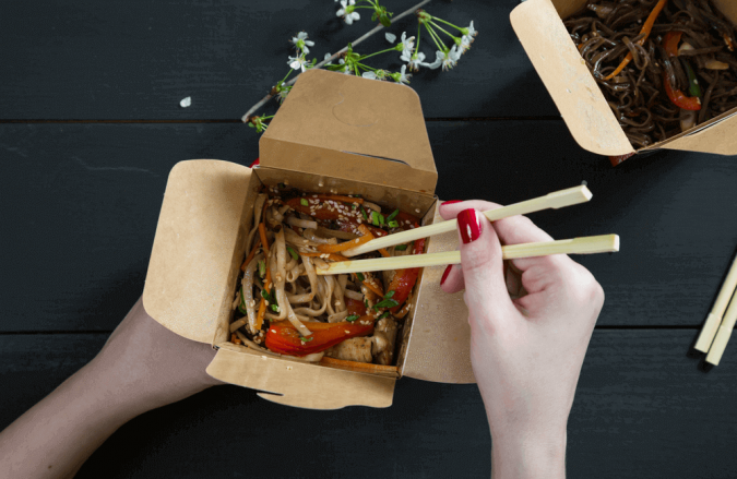 Custom Printed Noodle Boxes