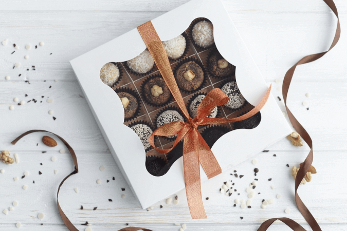 Custom Printed Chocolate boxes