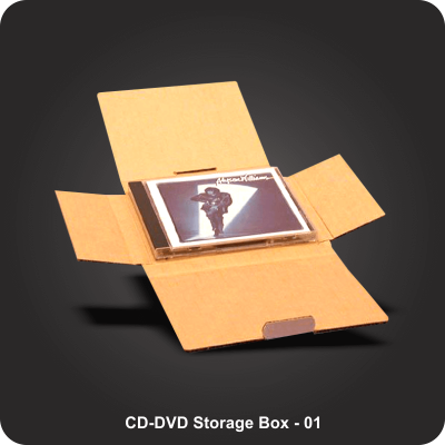 Custom Printed CD/DVD Boxes