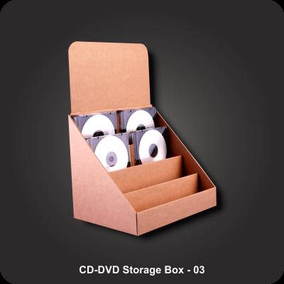 CD-DVD Storage Boxes