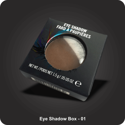 Custom Printed Eye Shadow Boxes