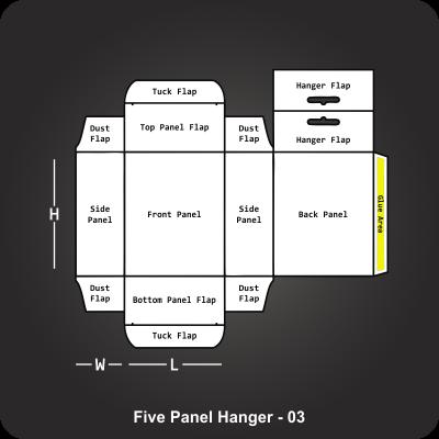 Five Panel Hanger Box