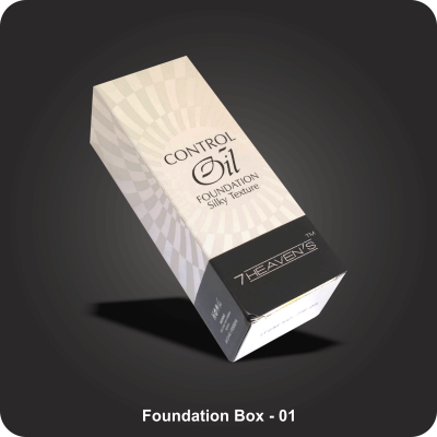 Custom Printed Foundation Boxes