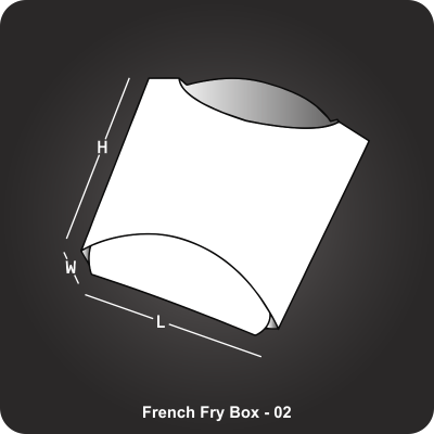 French Fry Box