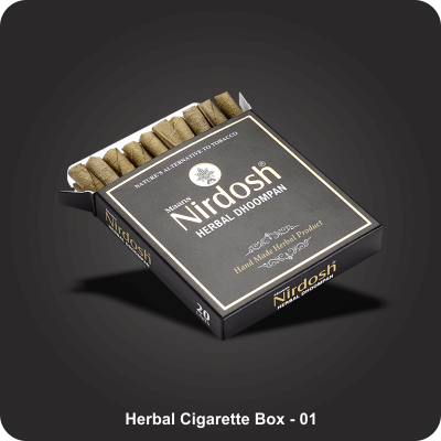 Custom Printed Herbal Cigarette Boxes