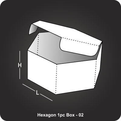 Hexagon 1pc Box