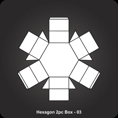 Hexagon 2pc Box