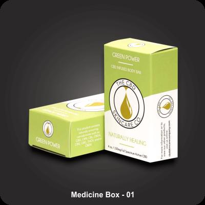 Custom Printed Medicine Boxes