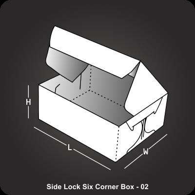 Side Lock Six Corner Box