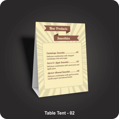 Table Tents