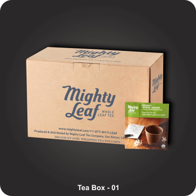 Custom Printed Tea Boxes