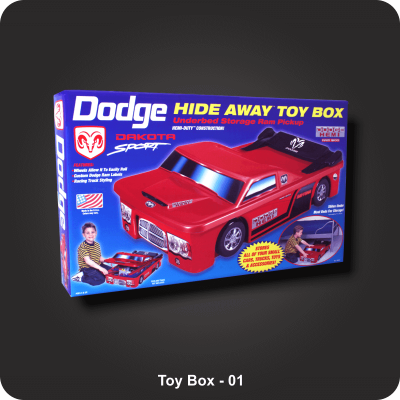 Custom Printed Toy Boxes