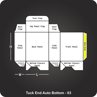 Tuck End Auto Bottom Box