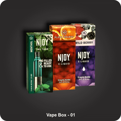Custom Printed Vape Boxes