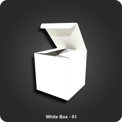 Custom Printed White Boxes