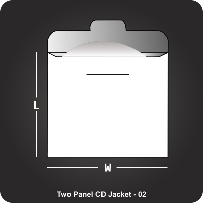 Two Panel CD Jacket